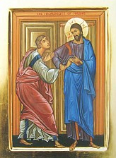 St  Thomas (icon of Doubting Thomas)